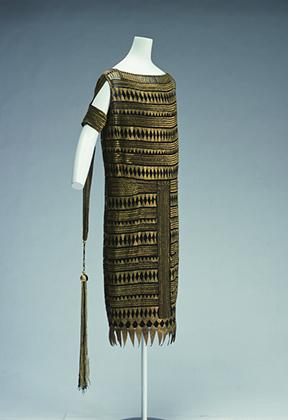 Платье в древнеегипетском стиле, ателье Мадлен Вионне, 1927 год