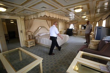 Из суперъяхты диктатора сделали отель