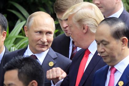 В России оценили перспективы встречи Путина с Трампом