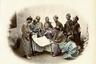 На вручную раскрашенном снимке, сделанном фотографом Феликсом Беато в 1867 году, запечатлены самураи клана Симадзу из княжества Сацума, которые сражались против сил сегуната на стороне императора.