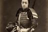 Фотография была сделана незадолго до окончательного запрета на ношение катан в общественных местах в 1876 году.