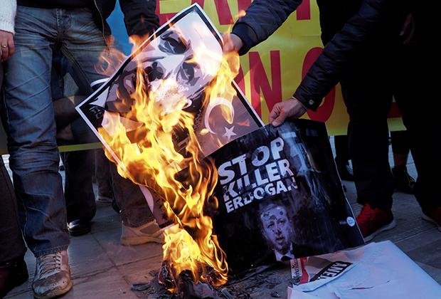 В Турции растет число недовольных политикой президента Эрдогана