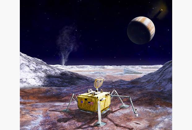 Спускаемый аппарат Europa Lander