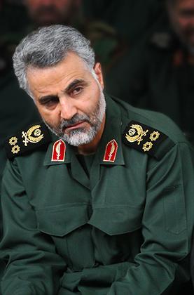 Генерал-майор КСИР Касем Сулеймани