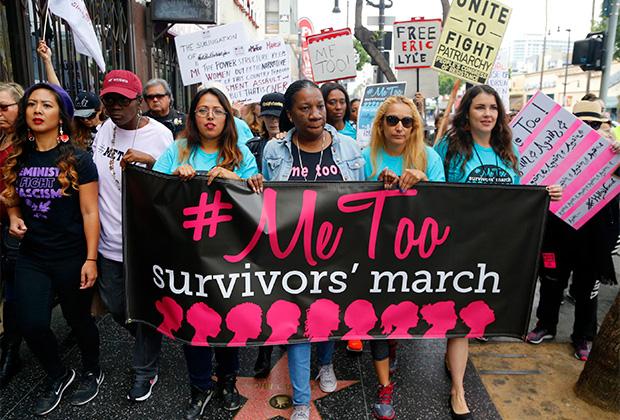 Женский марш в Лос-Анджелесе