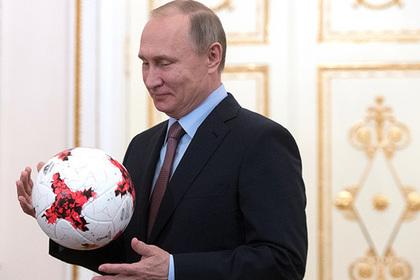 Путин назвал санкции игрой в футбол по правилам дзюдо