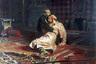 Картина «Иван Грозный и сын его Иван»