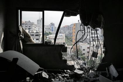 Израиль признался в ударе по сектору Газа