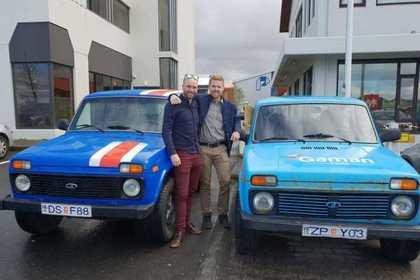 Исландцы собрались пересечь Европу на «Ниве» ради ЧМ-2018