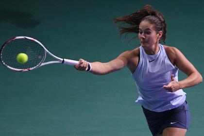 Российская теннисистка открестилась от жизни с «унылым куском говна»