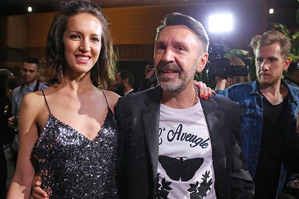 Сергей Шнуров с супругой Матильдой