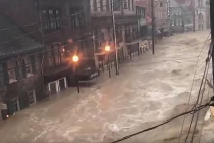 В США затопило едва оправившийся от наводнения город