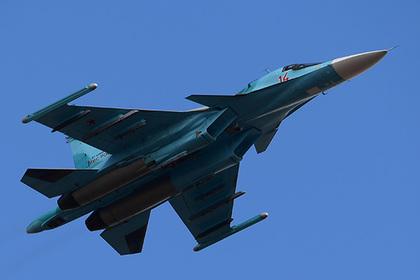 Российские Су-34 заподозрили в перехвате израильских истребителей