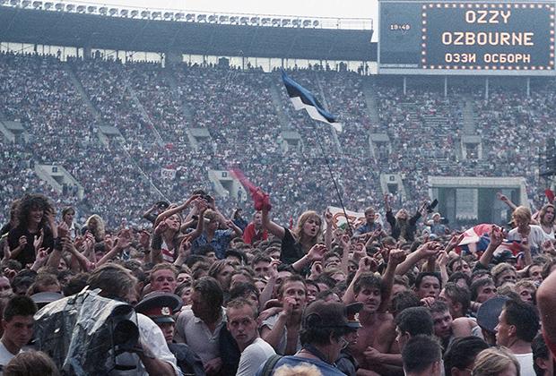 «Moscow Music Peace Festival» (Московский международный фестиваль мира) прошел в «Лужниках» 12-13 августа 1989 года