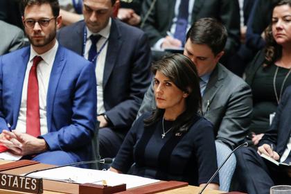 Хейли обвинила российскую столицу вразжигании конфликта вДонбассе