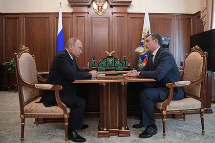 Владимир Путин и Василий Орлов
