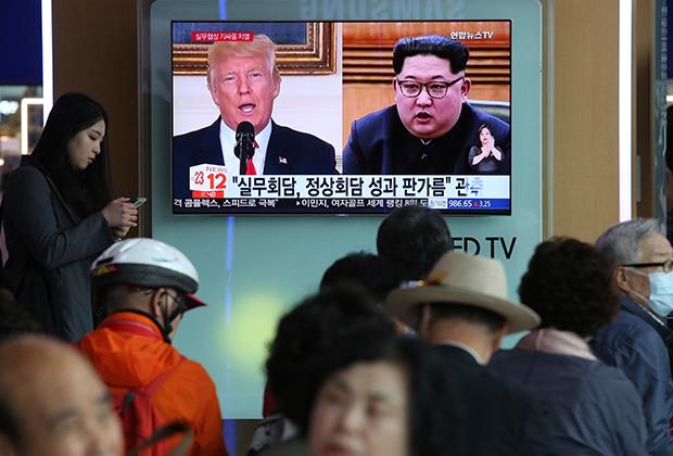Встречи Трампа и Ким Чен Ына ждут, пожалуй, во всем мире