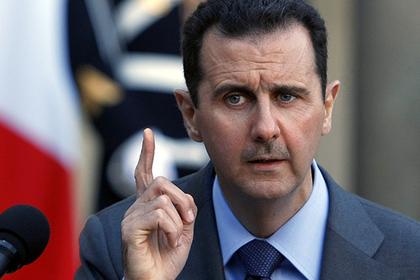 Асад рассказал о применении химоружия в Сирии