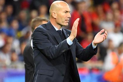 Зинедин Зидан оставляет пост основного тренера «Реала»