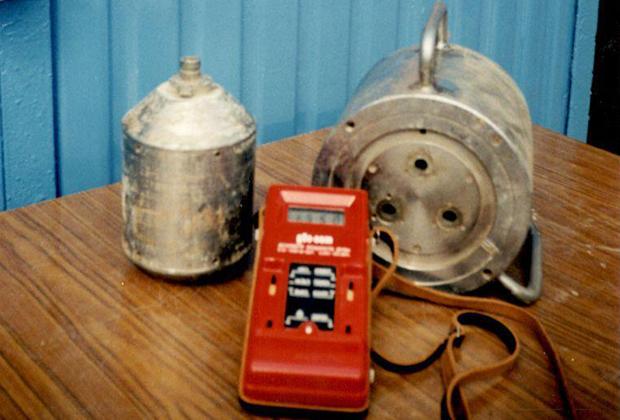 Свинцовый контейнер типа БГИ-2М