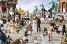 Проект «Пир Трималхиона», триптих «Прибытие Золотой ладьи», 2010