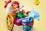 Одна из самых любимых девочками всего мира диснеевских героинь — в новом наборе Lego. Ариэль предстает в роли певицы. Рыбки, повозка, упряжной дельфин и лобстер с перкуссией прилагаются.