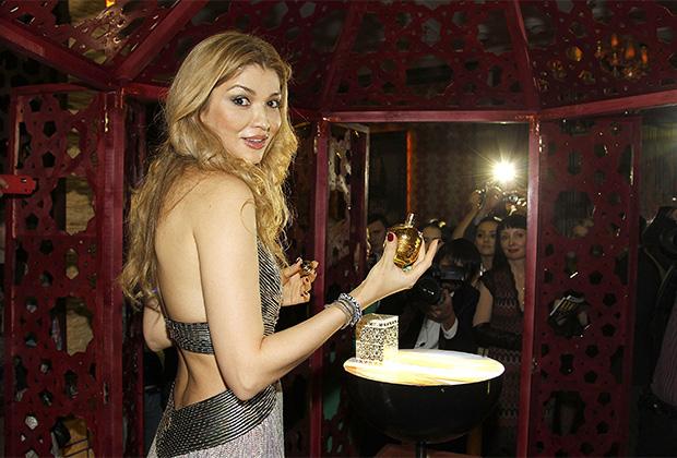 Гульнара Каримова на премьере новой коллекции своего бренда Guli в Ташкенте в 2012 году