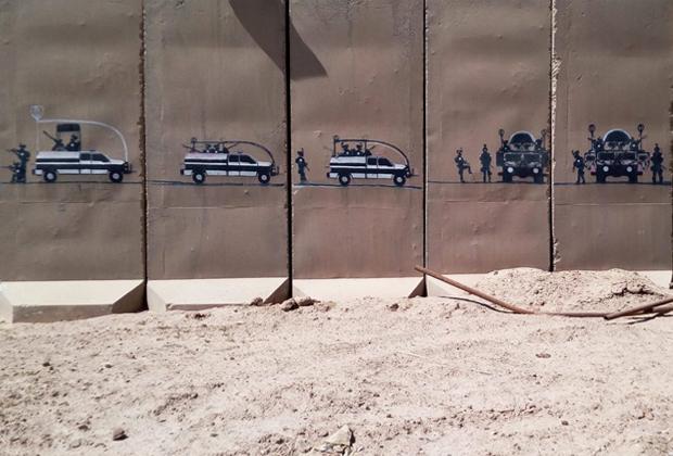 «В каждой стране — свои граффити. В Ираке графити отлично отражают и историю, и ситуацию в стране».
