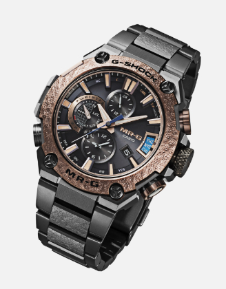 Часы G-Shock MR-G-G2000HA с чеканным безелем
