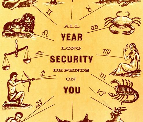 Ни дня нельзя расслабляться. <br><br> <i>«Весь год безопасность зависит от тебя».</i>