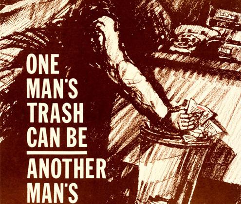 <i>«Для кого-то это мусор… Для другого — сокровище!»</i>