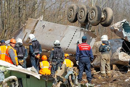 Польша обнаружила следы взрывчатки на Ту-154 Качиньского