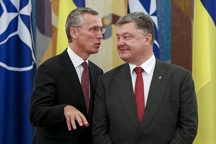 Йенс Столтенберг и Петр Порошенко