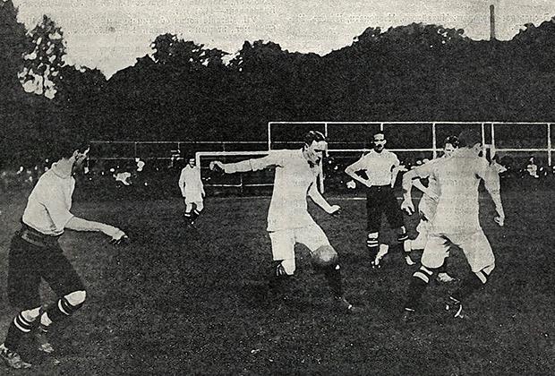 26 августа 1912 года. Матч «Морозовцы» — «Британцы»
