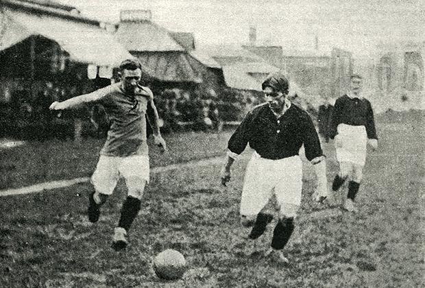 Октябрь 1912 года. Матч сборной Москвы с командой Holstein (Германия)