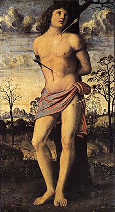 Полотно «Святой Себастьян» работы Джованни Больтраффио