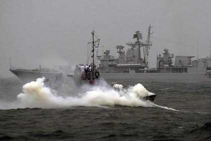 Вгосударстве Украина сказали оперехвате вЧерном море корабля ВМФ РФ