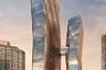 American Copper Buildings — две жилые башни, фасады которых, в полном соответствии с названием, покрыты медью. Со временем, по замыслу архитекторов, здания будут покрываться патиной — стареть красиво.