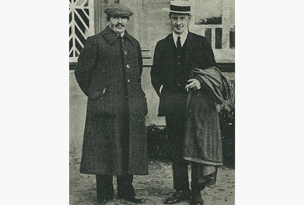 «Морозовцы», Вилли Чарнок (справа)