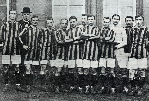 Команда Новогиреевского клуба спорта (НКС), выступавшая в Кубке Фульды