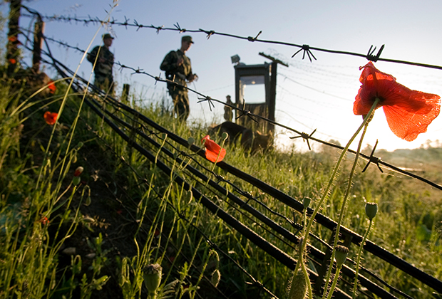 Россия усиливает пограничный контроль на границе с Белоруссией