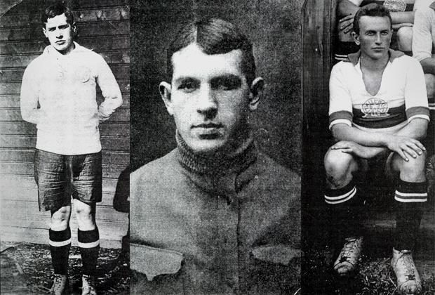 Братья Бутусовы (слева направо): Василий, Михаил и Павел