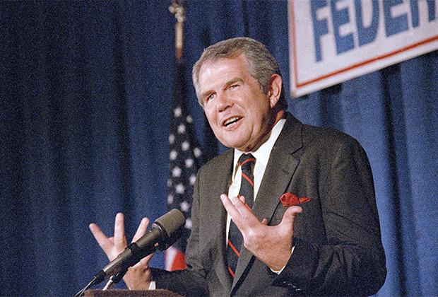 В сентябре 1986 года Робертсон объявил о намерении баллотироваться на пост президента США от Республиканской партии. Но после неудачной кампании и неутешительных  праймериз призвал своих сторонников голосовать за Джорджа Буша на выборах 1988 года.