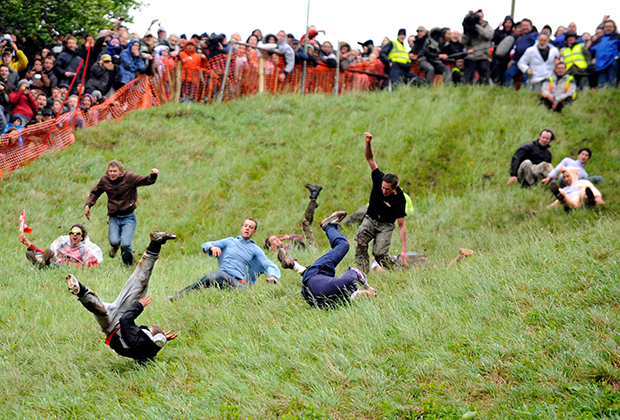 Cooper's Hill Cheese Rolling — Куперсхилдская сырная гонка