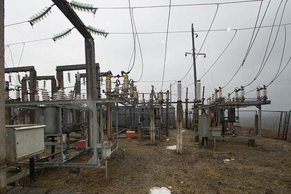 Электроподстанция в Луганской области