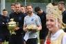 Футболист сборной Англии Гарри Кейн (слева) и главный тренер Гарет Саутгейт