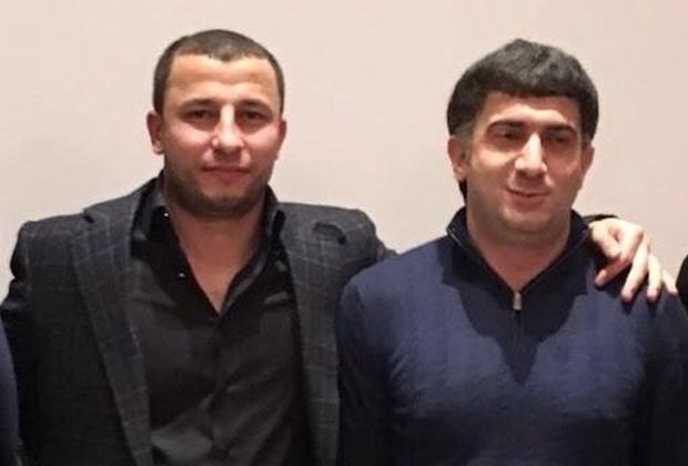 Хаджи Бейлаганский и Ровшан Джаниев (справа)
