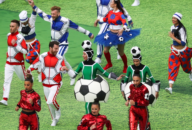 Сборной России предстоит сыграть в одной группе с командами Саудовской Аравии, Египта и Уругвая.