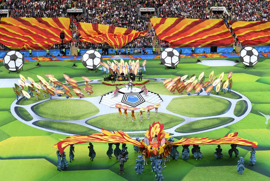 Церемонию открытия посетило более 80 тысяч человек. Среди них 20 руководителей иностранных делегаций.