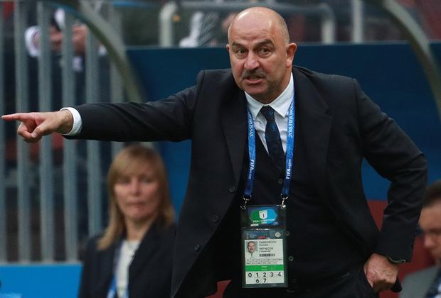 При главном тренере Станиславе Черчесове сборная России не выигрывала в последних семи матчах. Победа над Саудовской Аравией стала первой для отечественных футболистов.